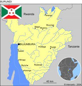 Mission de volontariat humanitaire au Burundi