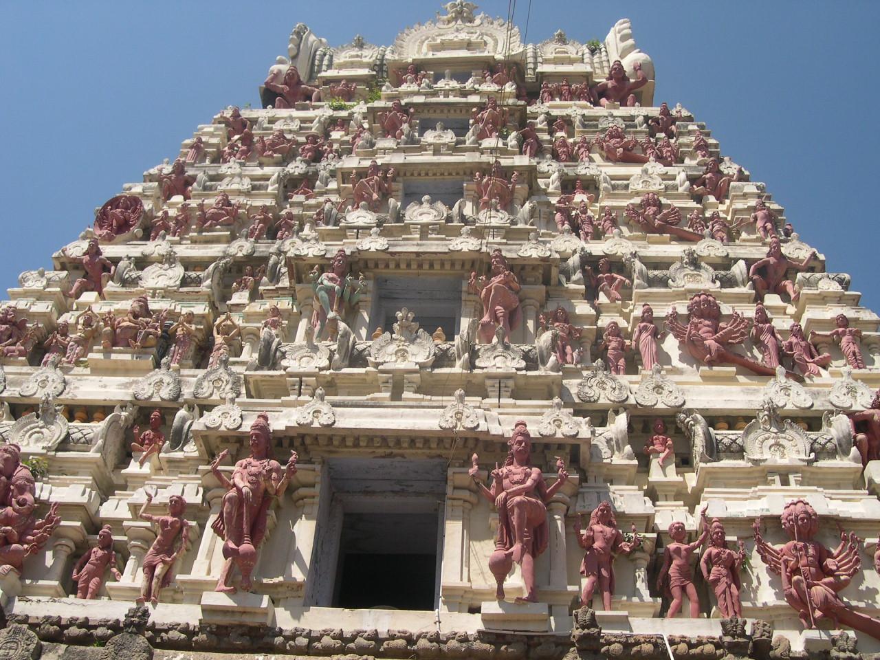 mission de volontariat humanitaire en inde temple