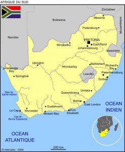 Volontariat humanitaire en afrique du sud et mission humanitaire carte