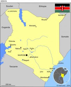 volontaire humanitaire au kenya et mission humanitaire en tanzanie carte