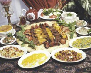 volontariat en iran nourriture