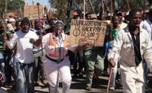 volontariat humanitaire afrique du sud economie greve