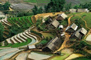 mission humanitaire et volontariat humanitaire au vietnam village