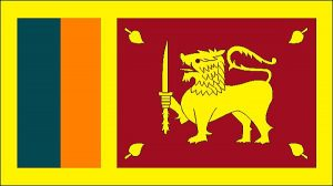 volontariat humanitaire et mission humanitaire au Sri-Lanka drapeau