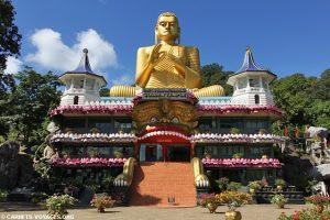 volontariat humanitaire et mission humanitaire au Sri Lanka temple d'or